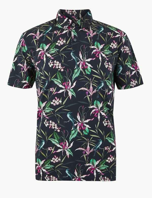 4dd7159c6e8e95 Mens Tops, T Shirts & Polos | M&S