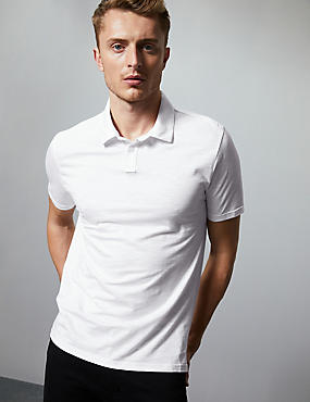 Supima® Cotton Slim Fit Polo Shirt