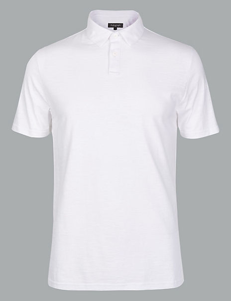 Supima® Cotton Slim Fit Polo Shirt