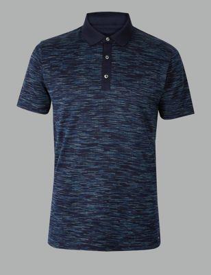 Pure Cotton Textured Polo Shirt £29.50 410dc909934c