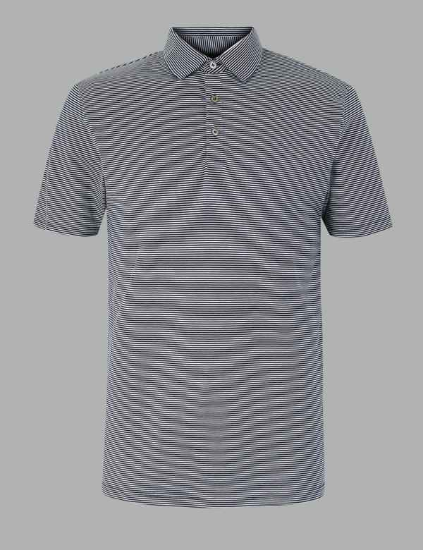 25cfdc3b476 T-Shirts & Polos for Men | M&S IE