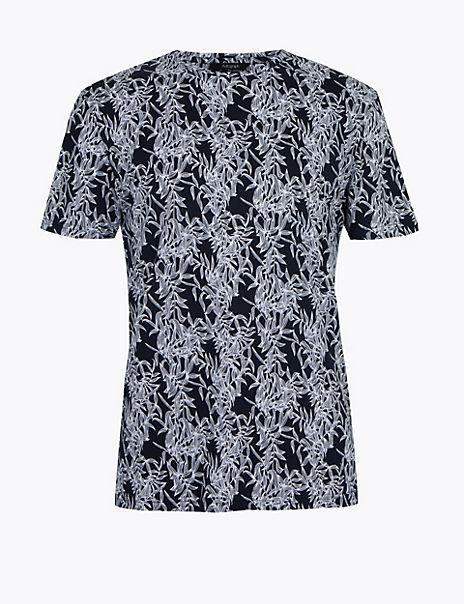 Supima® Pure Cotton Printed T-Shirt