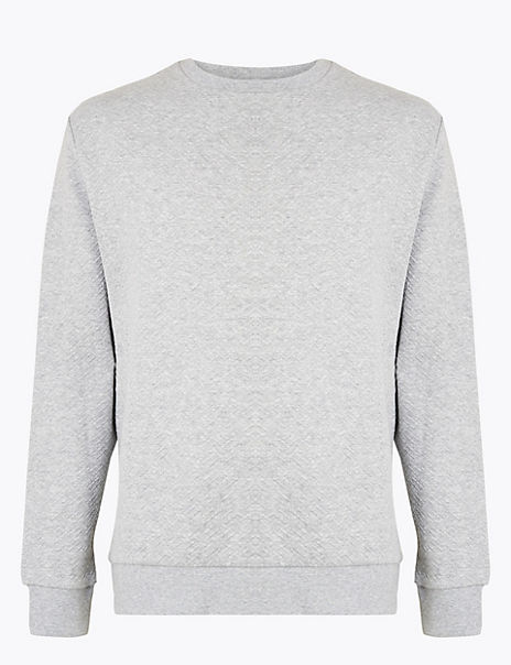 Supima® Cotton Crew Neck Sweatshirt