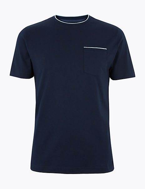 Supima® Cotton Crew Neck T-Shirt