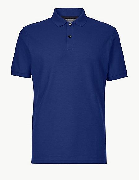 Pure Cotton Polo Shirt