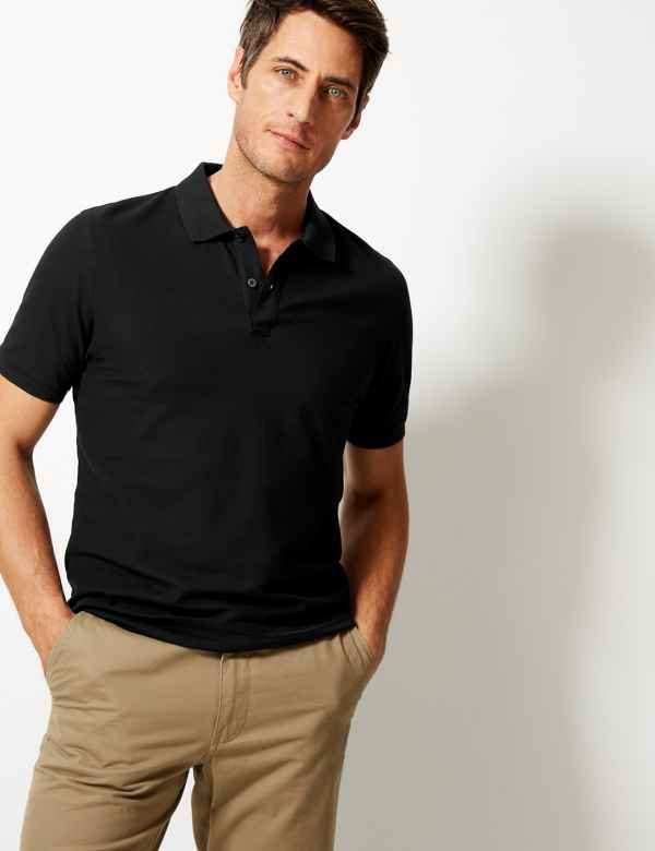 62c42cd3e657 Mens Tops, T Shirts & Polos | M&S
