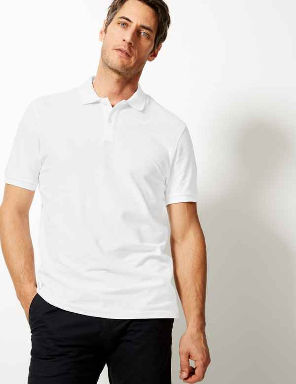 d1f04aea Big and Tall Mens Polos | Big & Tall T Shirts & Tops| M&S