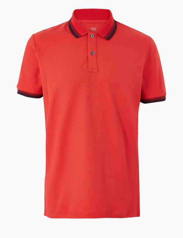 69aea9794 Pure Cotton Polo Shirt