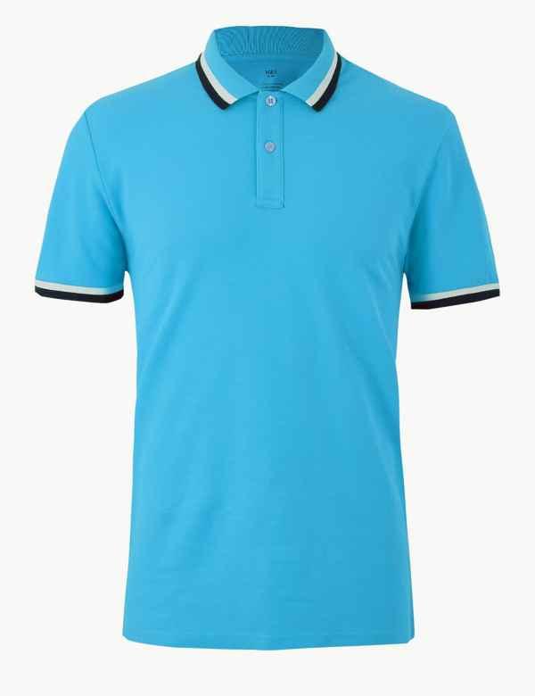 f6c795728 Pure Cotton Polo Shirt. Multibuy Offer