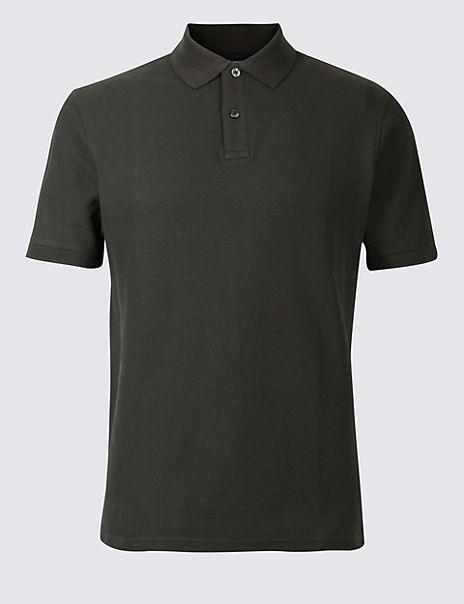 Big & Tall Pure Cotton Polo Shirt