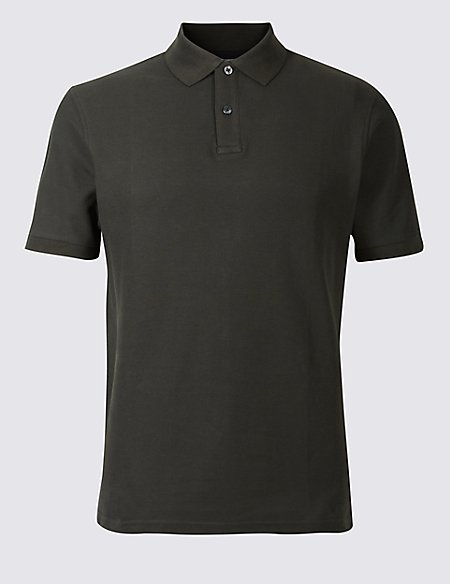 Big & Tall Pure Cotton Polo Shirt