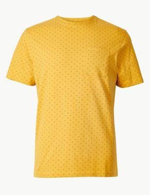 19a02b156cba Printed Crew Neck T-Shirt £15.00