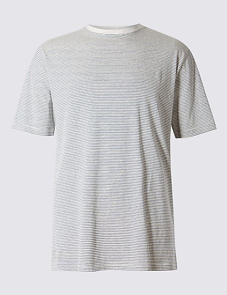Big & Tall Pure Cotton Regular Fit T-Shirt with StayNEW™