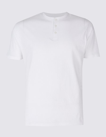 Regular Fit Pure Cotton Crew Neck T-Shirt
