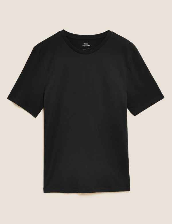 dad50f45b34 Pure Cotton Crew Neck T-Shirt. Multibuy Offer