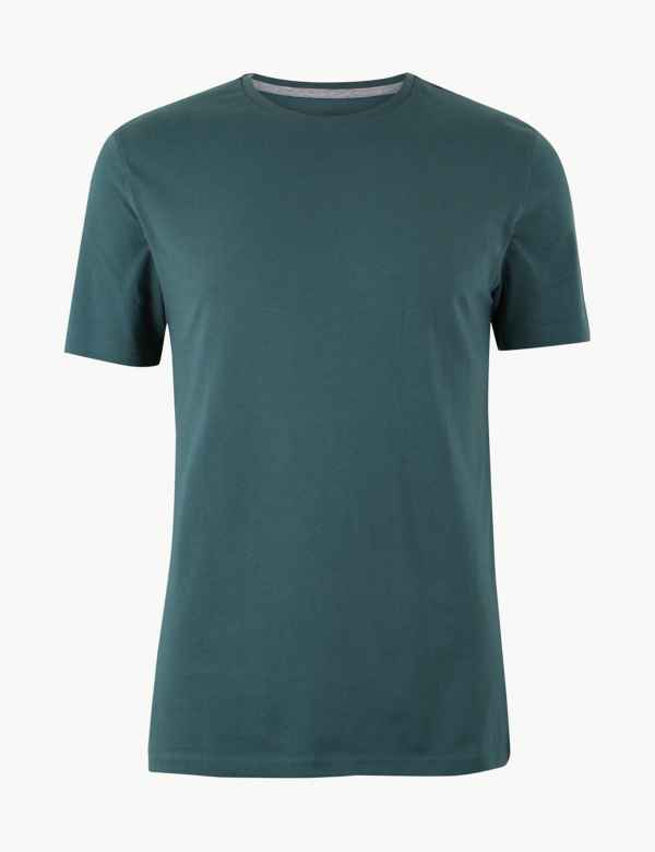 24028009981 Men's Stay New Tops & T Shirts | M&S