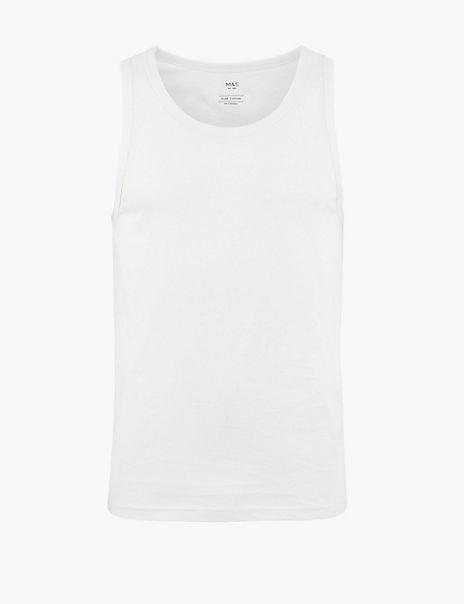 Pure Cotton Hanging Vest