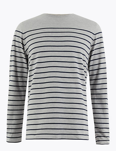 Cotton Rich Striped T-Shirt