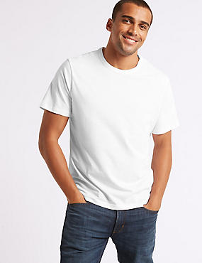 2 Pack Slim Fit Crew Neck T-Shirts