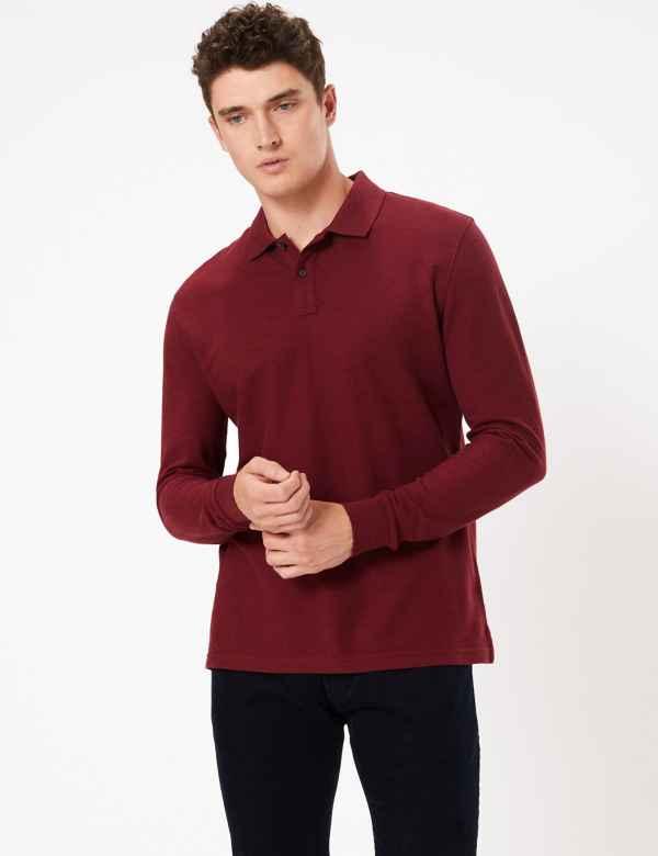e3064a30a3 Mens Tops, T Shirts & Polos   M&S