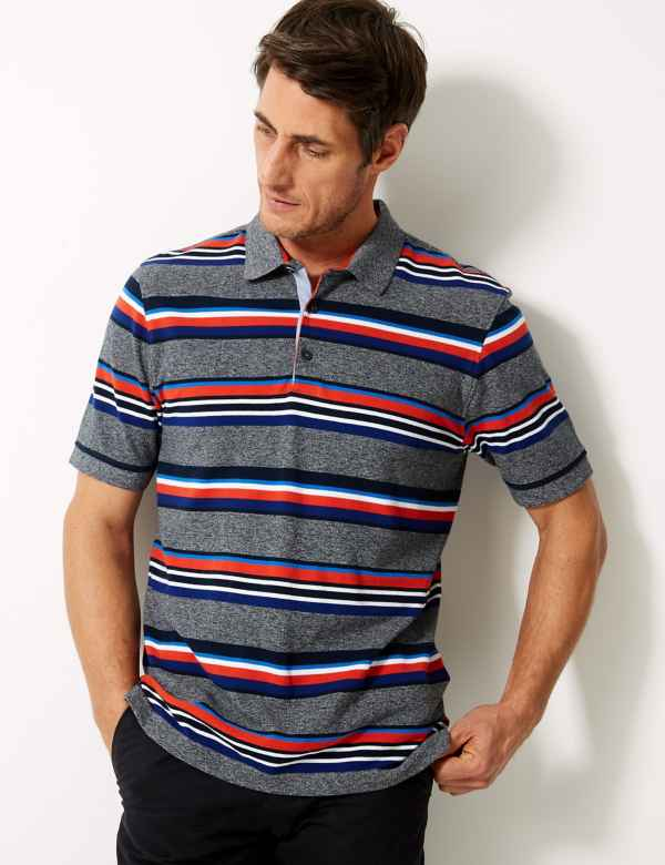 d3abad9f673 Big & Tall Tops | Plus Size T-Shirts & Polos For Men | M&S