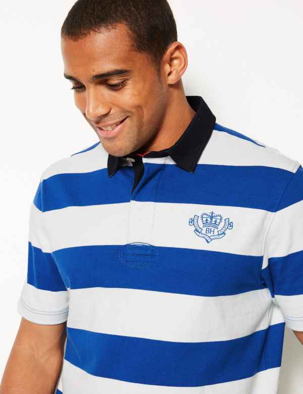 9e30f307 Mens Rugby Shirts & Tops | Long Sleeve Rugby Shirts | M&S