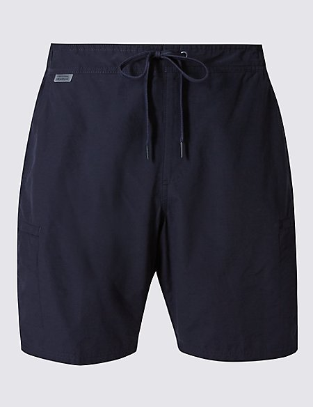 Cotton Rich Quick Dry Swim Shorts
