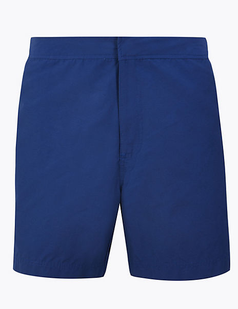 Quick Dry Plain Swim Shorts