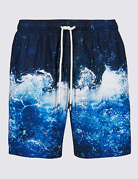 Wave Design Quick Dry Swim Shorts