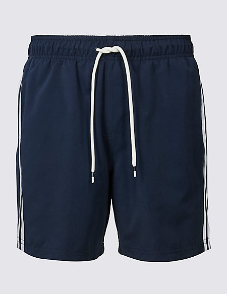 Striped Quick Dry Shorts