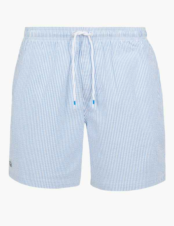 f16988ad5f Sustainable Quick Dry Striped Swim Shorts
