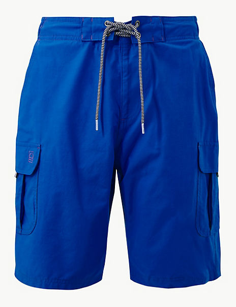 Quick Dry Lace Up Swim Shorts