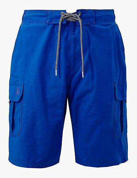 Quick Dry Lace Up Swim shorts