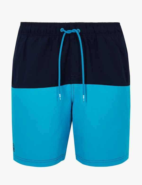 af41ab88cf Quick Dry Colour Block Swim Shorts. M&S Collection