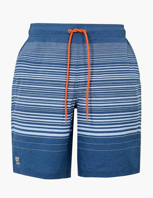37b39dc87be7 Quick Dry Woven Stripe Swim Shorts