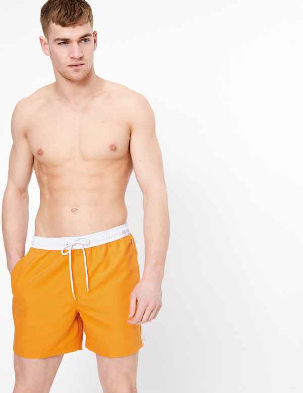Miami Beach Swimwear Boys Flower Swim Shorts