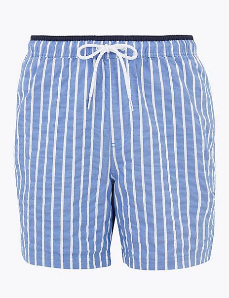 Seersucker Swim Shorts