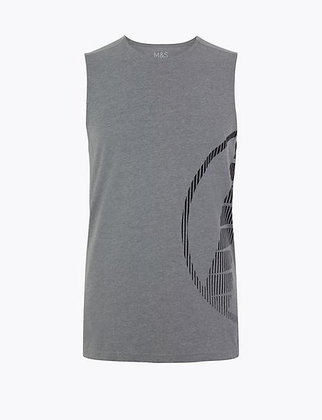 Active Printed Vest