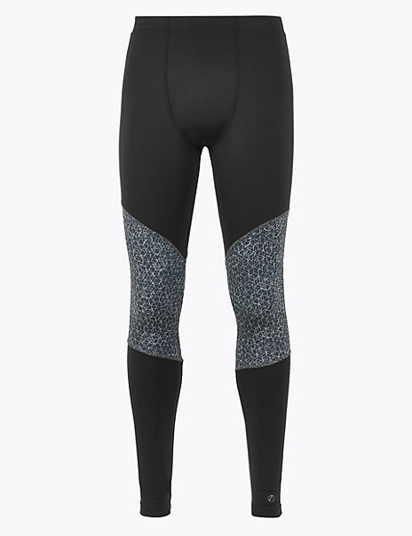 Active Geometric Print Leggings