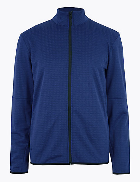 Active Fleece Funnel Neck Jacket