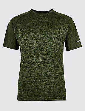 Active Performance Textured T-Shirt