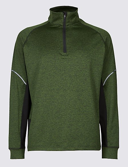 Active Performance Funnel Neck Top