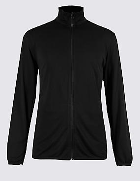 Active Lightweight Zip Through Top