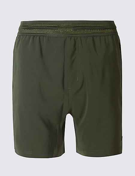 Active Shorts with Reflective Trim