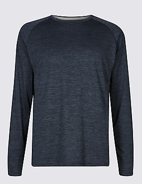 Active Performance Textured T-Shirt