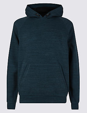Active Cotton Rich Hooded Top