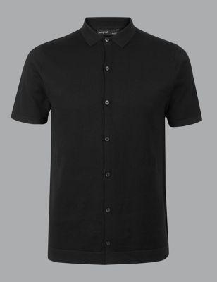 94d0a12a4 Supima® Cotton Short Sleeve Shirt £29.50