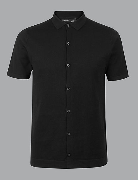 Supima® Cotton Short Sleeve Shirt