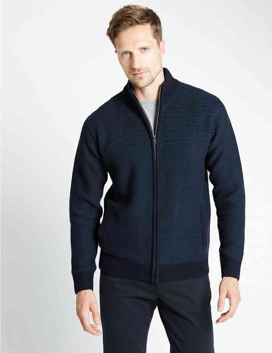540d80b4cd Textured Cardigan