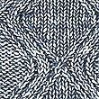 Cotton Rich Cable Knit Jumper, DENIM, swatch
